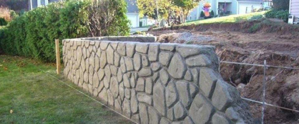 Preventivo Muro Cemento Armato.Come Realizzare Un Muro In Cemento Armato Farina Ezio S R L